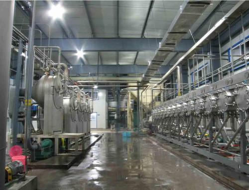 Corn Starch Production Plant